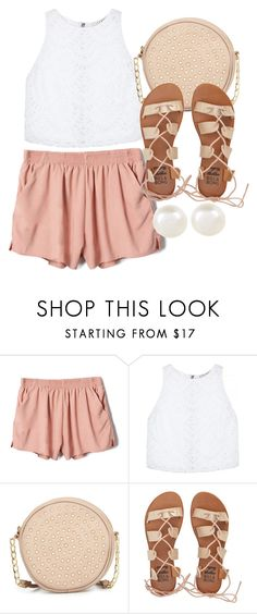 """245. Pink Shorts Outfit"" by kgarcia8427 ❤ liked on Polyvore featuring Alice + Olivia, Neiman Marcus, Billabong and Accessorize"