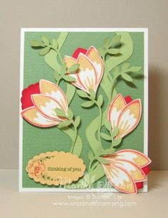Build a Blossom ! Stampin Up!