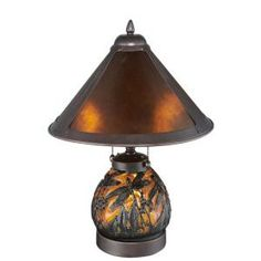 Table Lamps At Home Depot Adorable Serena D'italia Tiffany Dragonfly 14 Inbronze Table Lamp With Review