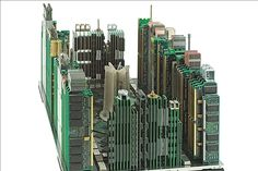 53 best circuit board crafts images recycling, circuit boardrecycled computer parts skylines waste art, circuit board, circuit city, italian artist,