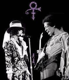 This is cool! Prince & Hendrix