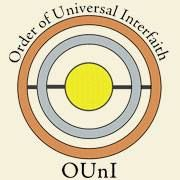 "OUnI's ""Touch of the Divine"" logo represents all religions and all forms of spirituality.  Read about the symbolism of the logo at www.ouni.org/symbols"