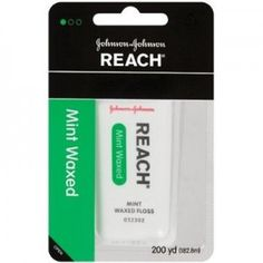 """I stared at this for ages because I thought it said """"Ranch"""". As in, ranch flavored dental floss. I was like """"NO WONDER IT'S FREE, AUGH.""""     Yep."""