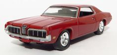 1/64 diecast collector: 1970 MERCURY COUGAR (DELUXE REL.2 A) - 2013