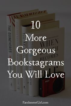 Here are 10 gorgeous bookstagram profiles I KNOW you will love (with photos)!