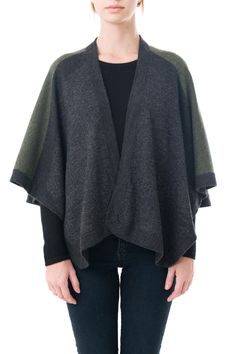 Walker Dodecahedron Intarsia Cape