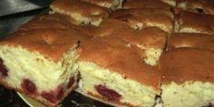 Gustos si pufos - Reteta pentru aluat de tip chec pentru prajituri cu fructe, foarte usor de facut