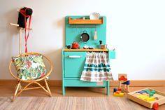 Wooden toy kitchen. PETIT model. #woodentoy #woodenkitchen #macarenabilbao