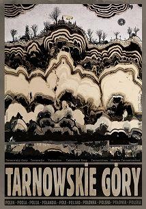 Tarnowskie Góry, plakat z serii Polska, Ryszard Kaja