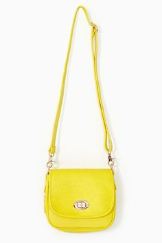 Electric Flash Bag - Yellow in Accessories at Nasty Gal