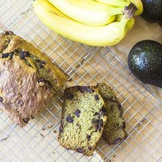 A virtually vegan avocado banana bread ready in less than an hour and made without using any dairy. Swap out the egg and it will be vegan. Avocado Banana Bread, Banana Nut Bread, Gluten Free Desserts, Dessert Recipes, Healthy Deserts, How To Make Bread, Almond Flour, Bananas, Ketogenic Diet