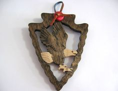Beautiful Eagle Ornament that would make a nice gift for a mentor or Scoutmaster.