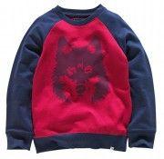 Cherokee Boys Wolf Head Sweatshirt    To download this press image visit prshots.com/press #sweatshirt #jumper #sweater #fashion #women #men