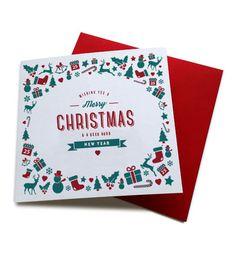 have a geet lush christmas pet geordie card
