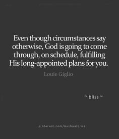 His love for you prevails. Believe in Him. Have faith. <3 More