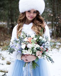 Russian style winter wedding