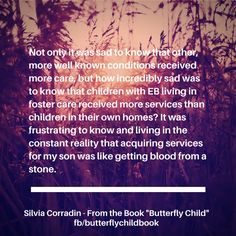 #ButterflyChild Book Now Available http://www.butterflychildamothersjourney.com/?page_id=19    #EBawareness #stopEB #EpidermolysisBullosa