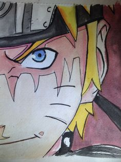 My first attempt at Naruto!......Ye something is a bit off......