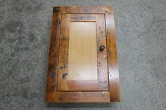 I am in the process of ordering one of these reclaimed-wood beauties with a mirror for our downstairs bathroom remodel.  I've looked and looked for a vintage piece, with little luck.  Most everything is just too deteriorated for daily use with children (flaking lead paint, rust, chipped glass shelving, etc.).  So, finding a furniture maker who specializes in utilizing reclaimed wood seemed like a fabulous alternative!