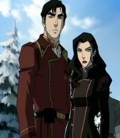 Legend of Korra: Iroh and Asami... I ship it. I like it. She deserves someone. Although it would be adorable if she could somehow come to love Bolin.