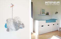 Ikea stuva kisten voor bedstee