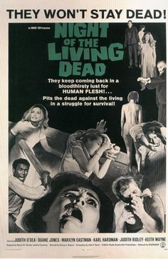 Night of the Living Dead. George A. Romero, director.