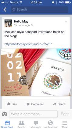Mexican wedding invites