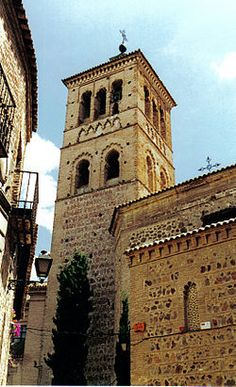 The church built in the Mudéjar architectural style in the cent. in the place where before there was an old Visigothic architecture and probably,an Ancient Roman building. San Roman, Roman Architecture, Spain And Portugal, Andalusia, Ancient Romans, Where To Go, Real Madrid, Building, Places