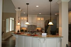 Fabulous Kitchen...love the hanging lights