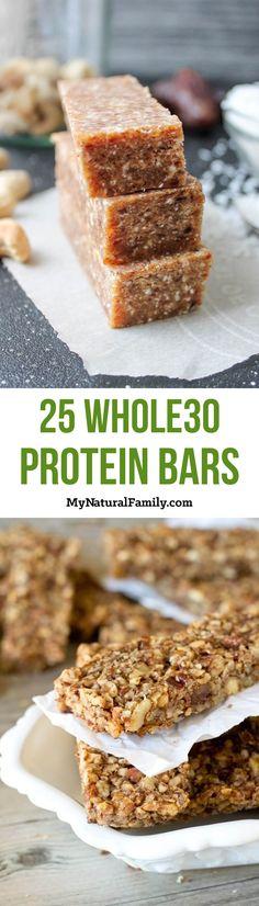 25 Whole30 Breakfast Energy Bar Recipes