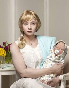 Self Portraits of an African-Canadian Dressed as Her White Ancestors Explores Her Mixed Heritage