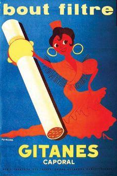 Gitane Caporal     vers 1960 / FIX-MASSEAU PIERRE