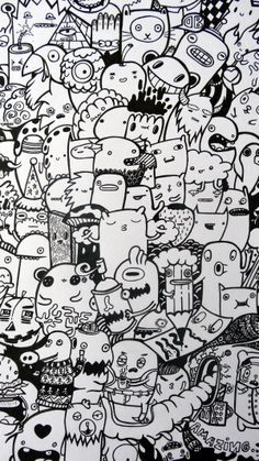 Doodle Art By DoodleBros Via Behance