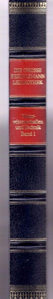 Band I, Die große Bertelsmann Lexikothek, Naturwissenschaften und Technik