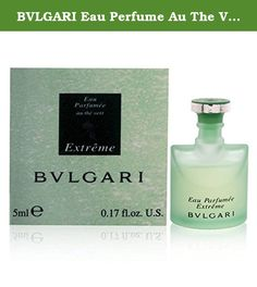 BVLGARI Eau Perfume Au The Vert Extreme Eau De Toilettes Mini, 0.17 Ounce. A classic designer fragrance for men. Perfect for gift giving on any occasion, all year round. This is high quality product.