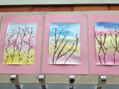 pajunkissat Art Projects, Projects To Try, Diy And Crafts, Arts And Crafts, Tea Art, Spring Art, Activities For Kids, Kindergarten, Easter