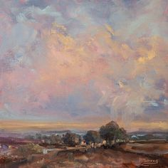 Look Up And Be by Roberta Murray Oil ~ 10 x 10