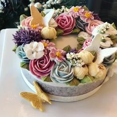 The delicious Spring vibes 🌸 from this swoon-worthy cake design is setting our perfect 😍! Whimsical Wedding Theme, Whimsical Wedding Inspiration, Bridal Wedding Dresses, Designer Wedding Dresses, Boho Wedding, Boho Cake, Jasmine Bridal, Bridal Shops, Strictly Weddings