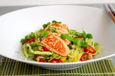 IMG_4756 Quinoa, Salmon, Spaghetti, Healthy Recipes, Healthy Food, Fish, Snacks, Dinner, Cooking