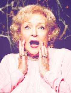Betty. White. I seriously love her!