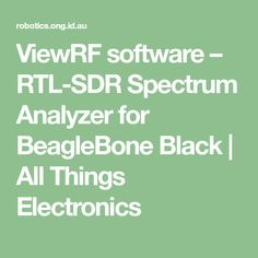 Sdrsharp Spectrum Analyzer