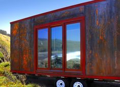 The Popomo: A cool 1 level tiny house from tumbleweed. Not their usual aesthetic, but the single level makes it more practical for aging knees;-)