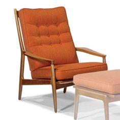 Thayer Coggin Archie Lounge Chair TC-1266-103. Zoom