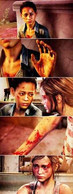 Ellie + Riley: My best friend was there, and she got bit too. #lastofus #leftbehind
