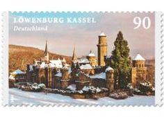 Serie Schlösser und Burgen Löwenburg, 10 nassklebende Marken á 0,90 EUR