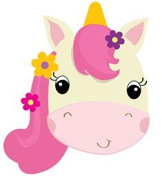 ORGANIZADOR  DE CARTON EN FORMA DE UNICORNIO   El Mundo de Isa Unicorn Party, Unicorn Birthday, 7th Birthday, Unicorn Drawing, Cowgirl Party, Unicorn Pattern, Class Decoration, Farm Party, Applique Patterns