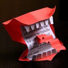 Harry Potter Howler Origami | Tektonten Papercraft