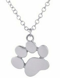 $4.99! Pet Paw Print Dog, Cat Charm Pendent Necklace - FREE SHIPPING!   | eBay
