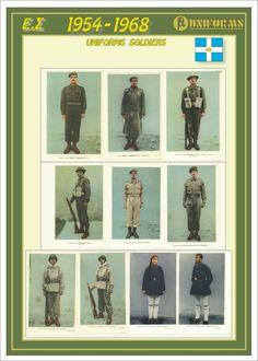 Pathfinder clubs - ARMY UNIFORMS - ΣΤΡΑΤΙΩΤΙΚΕΣ ΣΤΟΛΕΣ * ARMY RANKS - ΒΑΘΜΟΙ