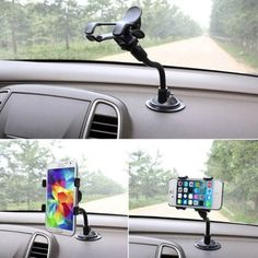 Cheap Mobile Phone Holders & Stands, Buy Directly from China Suppliers:Car Windshield Glass Mount 360 degree Cell Phone Holder Bracket Stand For Samsung For iPhone For HTC LG for Huawei Holder Dashboard Phone Holder, Dashboard Mobile, Dashboard Car, Cell Phone Holder, Car Mount Holder, Car Holder, Smart Kitchen, Mirror Brackets, Iphone Gps